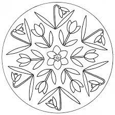 Mandala avec du muguet  Le Mandala