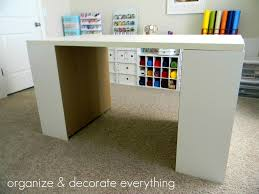 diy craft table ikea furniture crafting desk lovely do it yourself white craft desk