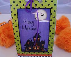 halloween favor bags etsy