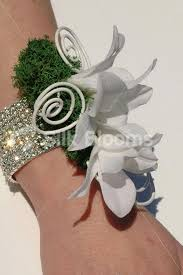 White Orchid Corsage Shop White Cymbidium Orchid Artificial Wedding Wrist Corsage W