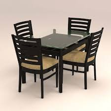 4 Seat Dining Table And Chairs 4 Seater Dining Table