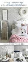 best 25 damask wall stencils ideas on pinterest damask wall stencil your bedroom walls with a classic damask wallpaper look french country farmhouse style bedroom