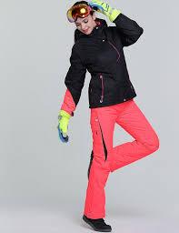 Women Ski Jacket Outdoor Winter Ski Suit Womens Waterproof