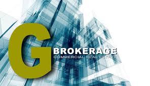 g brokerage commercial real estate agency logo u2022 g brokerage