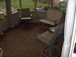 Patio Concrete Tiles Exteriors Concrete Patio Floor Covering 6pc Interlocking Outdoor
