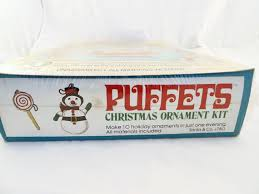 vintage puffets christmas ornament kit 10 easy to make fabric