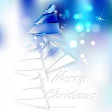 blue white christmas tree background graphics 123freevectors