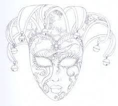 mask venice coloring pages coloring books