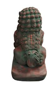 foo dog sculpture foo dog statue guardian lion sandstone