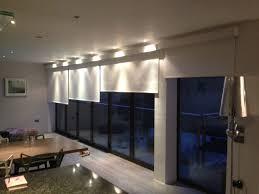 blinds for bi fold doors electric blinds from deans of london