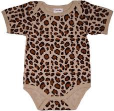 Cheetah Print Blanket Leopard Print Bodysuit Short Sleeve Baby Milano