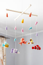 Octopus Ceiling Light by Needle Felted Fish Baby Mobile Octopus Needle Felted Baby