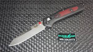 benchmade 940 1701 osborne axis lock contoured black g10 red