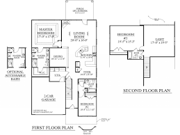47 4 bedroom house plans loft 2 story floor with bathrooms in eve
