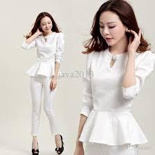 discount wholesale set women elegant pants suits ladies business