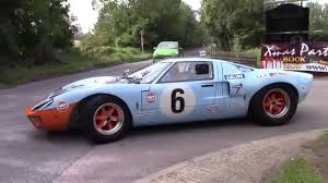 gulf racing gulf racing ford gt40 sound and accelerations youtube