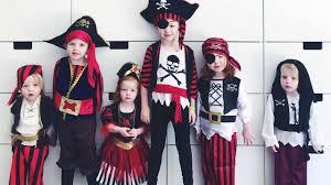 kids halloween pirate costume dress up youtube