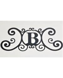 monogram letter b don t miss this deal on scrolled iron metal letter b monogram
