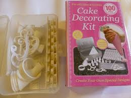 Decorating A Cake At Home 100piece Cake Decorating Kit Home Furniture And Décor