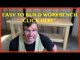 how to build a workbench easy cheap u0026 sturdy youtube