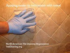 Arts And Crafts Tile Backsplashes Google Search Home Tile - Sealing travertine backsplash
