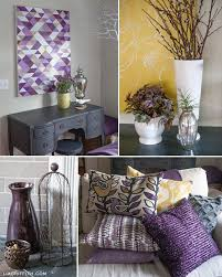 Grey And Yellow Living Room Design by The 25 Best Purple Living Rooms Ideas On Pinterest Purple