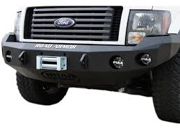 ford f150 road bumpers 2009 2014 f150 road armor stealth front winch bumper 66130b