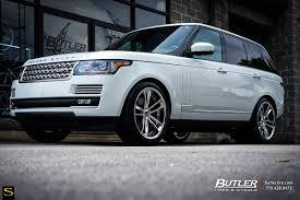 matte white range rover range rover savini wheels