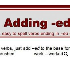 ed words worksheet