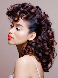 roller set relaxed hair best picture of roller set hairstyles for black hair hope