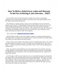 100 make the perfect resume how to make a good cover letter