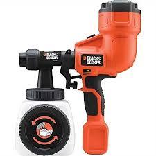 paint sprayer black decker hvlp hand held paint sprayer amazon co uk diy tools