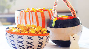 how to papier mâché halloween candy bowls make