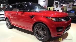 range rover silver interior 2016 range rover sport hst exterior and interior walkaround