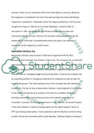 Vanity Fair Essay Internship Review Vanity Fair Versus Appomattox Advisory Essay