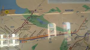 New York Mta Map Mta November 2016 Subway Map Featuring The W On An Astoria