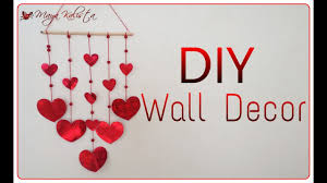 heart wall decoration shocking diy how to make simple 3d heart