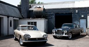 bentley ferrari narrow eyed staring duel between ferrari 330 gt and bentley s3