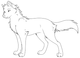 baby wolf coloring page download u0026amp print online coloring pages
