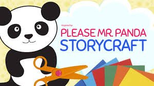 please mr panda craft template kids craft crafty pammy