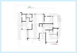 splendid design luxury villa floor plans kerala 5 square feet