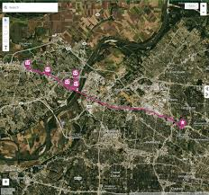 Route 70 Map by Routes Schedule St Charles Mo Official Website