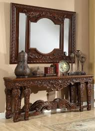 console table and mirror set entryway console table mirror set