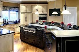 l shaped kitchen island ideas splendid majestic kitchen island stove stove p island l shaped