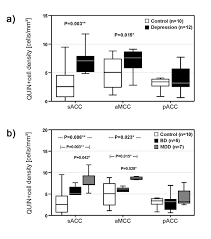severe depression is associated with increased microglial