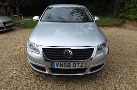volkswagen passat silver used 2008 volkswagen passat highline tdi for sale in cambs