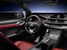 lexus ct200h interior the lexus ct200h gets sportier for 2018