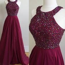 simple dresses simple halter burgundy evening prom dresses custom prom