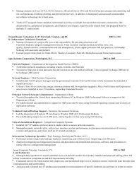 Trained New Employees On Resume Sample Resume Network Engineer Network Engineer Resume Sample