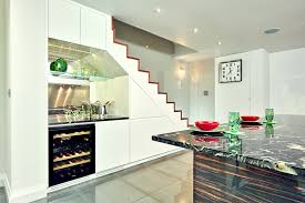 kitchen decorating under stairs storage cost bookshelves with